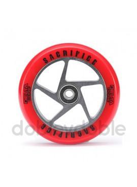 Sacrifice Rueda Delta Core 110mm Rojo/Negro