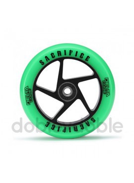 Sacrifice Rueda Delta Core 110mm Verde/Negro