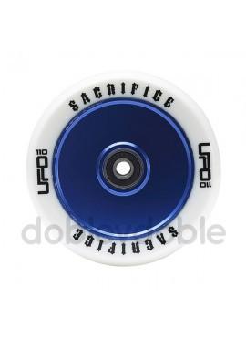 Sacrifice Rueda UFO 110mm Blanco/Azul (1und)