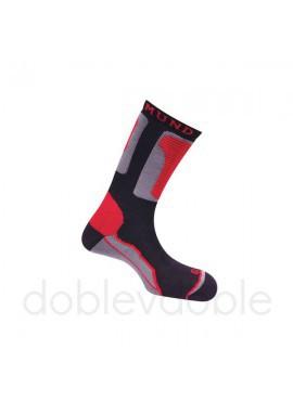 Mund Calcetines Rojo-Negro