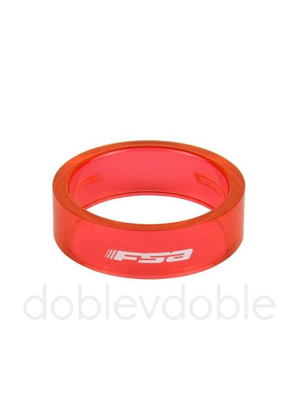 FSA Separadores 10mm Rojo