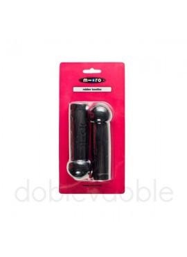 Puños Mini y Maxi Micro Negro