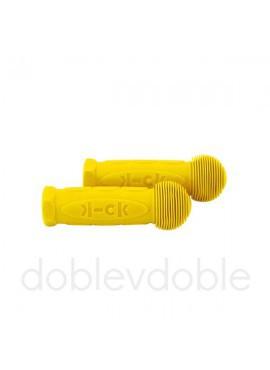 Puños Mini y Maxi Micro Amarillo