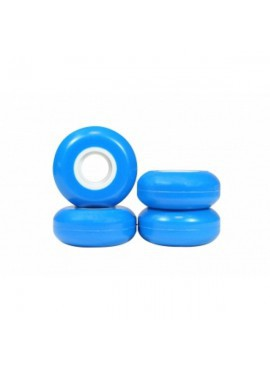 USD Blank RUEDAS 55MM 90A 4 PACK Azul