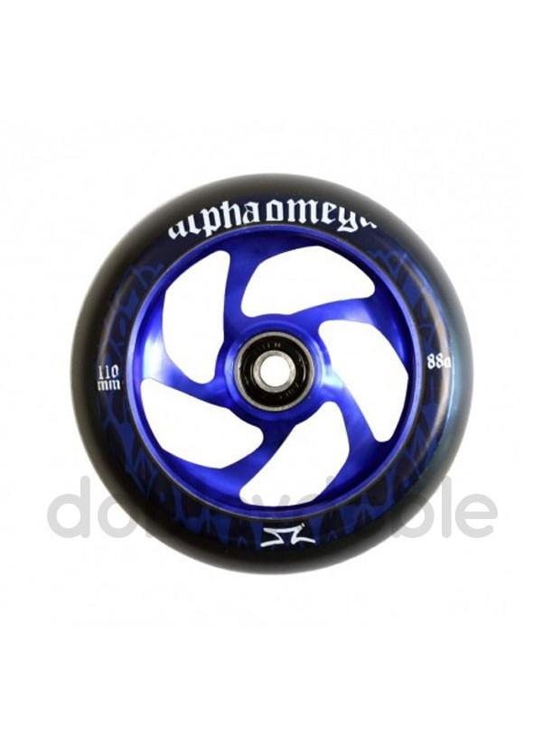 AO Rueda Spiral Azul 110mm