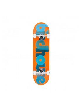 Birdhouse Skate Completo Opacity Logo Naranja