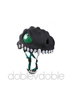 Crazy Safety Cascos Animales Dragón Negro
