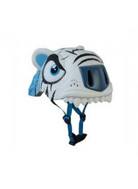 Crazy Safety Cascos Animales Tigre Blanco