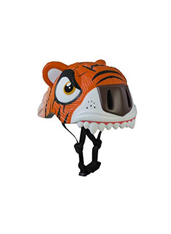 Crazy Safety Cascos Animales Tigre Naranja