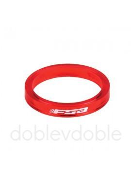 FSA Separadores 5mm Rojo