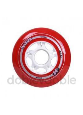 Hyper Ruedas XTR Rojo 80mm/84A