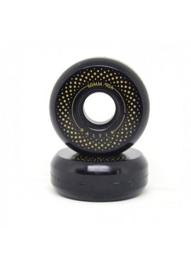 Kaltik Ruedas Black Spinners 60mm 90A