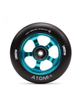 Lucky Rueda Atom 110mm Turquesa 1und