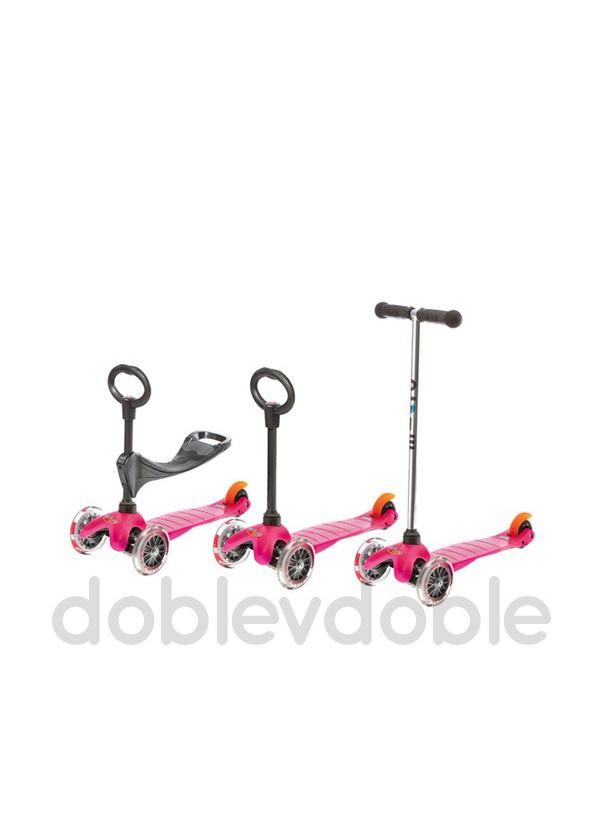 Mini Micro 3 en 1 Rosa