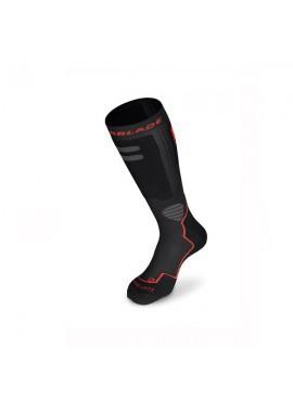 Rollerblade Calcetines High Performance Negro-Rojo