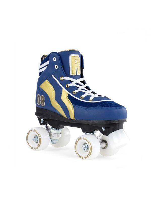 Rio Roller Quad Varsity Azul/Oro 40
