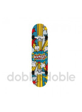 Rocket Skate Logo Multicolor