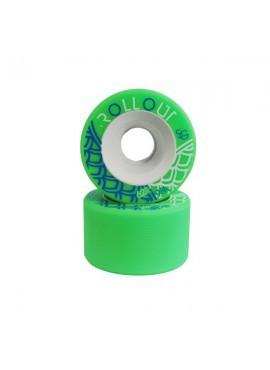 Sure Grip Ruedas Roll Out 59mm/98A Verde