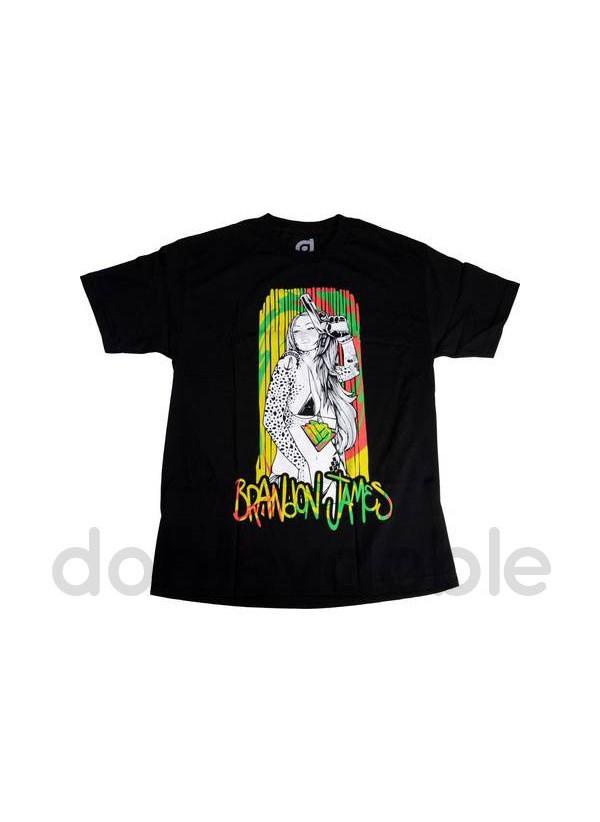 District Camiseta Brandon James