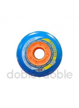 Pack 4 Ruedas Hyper Concrete +G SL Azul-Naranja