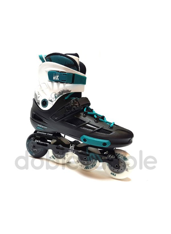 KRF Angel Freeskate Negro/Verde