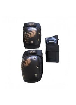 KRF Kit Protecciones SR AGR Negro
