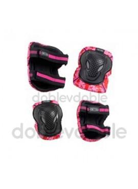 Micro Kit Protecciones Rosa