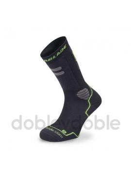 Rollerblade Calcetines Negro-Verde