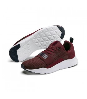 Puma Deportivas Wired Granate
