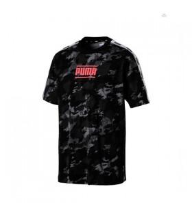 Camiseta Tee Iron Camo Puma