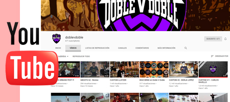 Visita nuestro Youtube - WWdoblevdoble